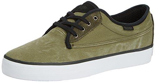 Monde Moonshine Chaussures De Sport Unisexe Adulte Vert (19393 Militaire / Noir)