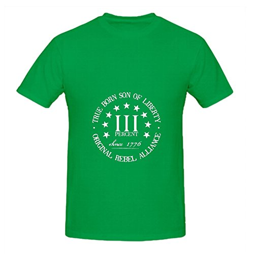 KARLEE True Born Son of Liberty Original Rebel Alliance Mens T-shirt]()
