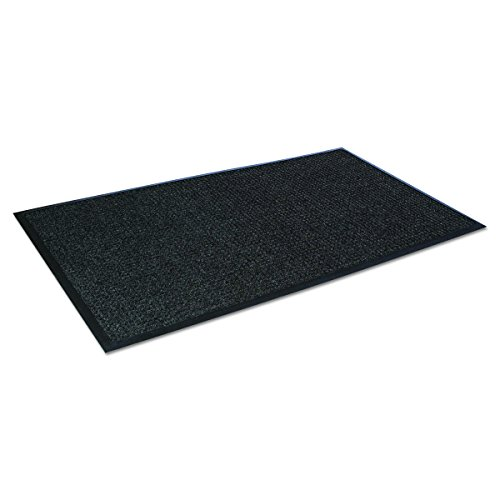 Crown SSR046CH Super-Soaker Wiper Mat w/Gripper Bottom, Polypropylene, 45 x 68, Charcoal