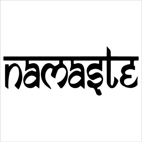 Namaste Tibet Buddha Window Sticker