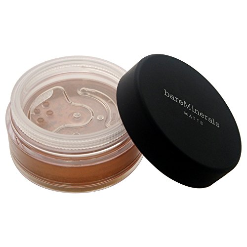 bareMinerals Matte SPF 15 Golden Dark (W40) Foundation for Women, 0.21 (0.21 Ounce Foundation)