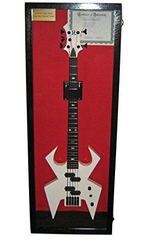 Hardwood Guitar Display case Glossy Black Finish, Guitar Display case