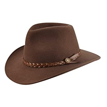 64a8f9158fb9 Eddy Bros. Men Cougar Outback Hat Serpent M at Amazon Men's Clothing store: Cowboy  Hats