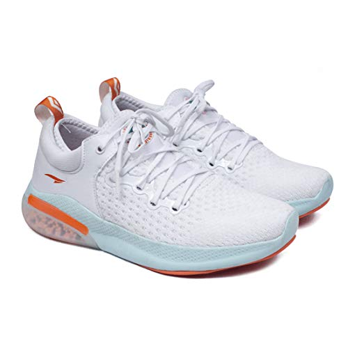 ASIAN Rider-01 Orange Running Shoes for Men I Sport Shoes for Boys with Beads Technology Sole for Extra Jump I Memory Foam Insole