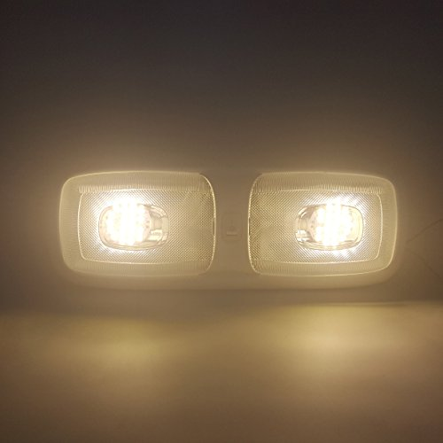 10 Rv Led 12v Fixture Double Dome Pancake Light 3200k Warm