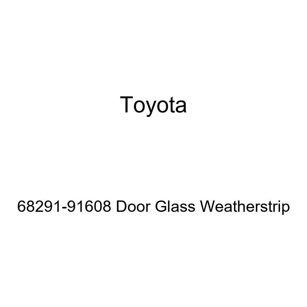 TOYOTA Genuine 68291-91608 Door Glass Weatherstrip