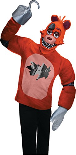 Rubie's Men's Five Nights at Freddy's Foxy Costume, Multi, Small