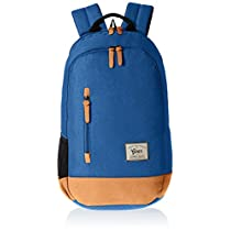 Gear Classic 29 ltrs Royal Blue and Brown Casual Backpack (... Gear Classic  29 ltrs Royal Blue and Brown Casual Backpack (. e07c859a07724