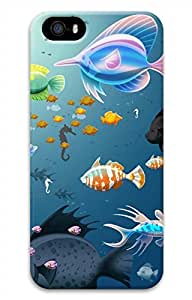 iPhone 5 5S Case Underwater World Fishes Funny Lovely Best Cool Customize iPhone 5 Cover
