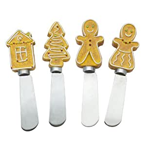 Christmas Gingerbread Spreader, Set of 4