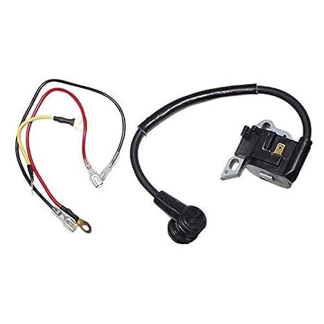 Reemplazo del módulo de la Bobina de Encendido para STIHL 021 023 025 MS210 MS230 MS250 Motosierra bujía con Cables de instalación: Amazon.es: Coche y moto