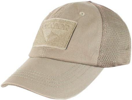 CONDOR TCM-003 Mesh Tactical Cap Tan: Amazon.es: Ropa y accesorios