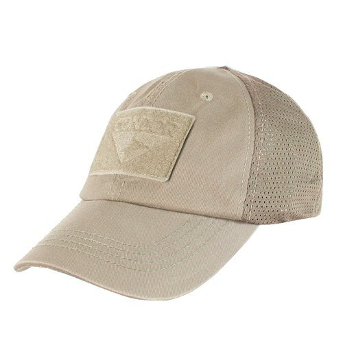 Cap Adjustable Trucker Mesh (CONDOR Mesh Tactical Cap (Tan, One Size Fits All))
