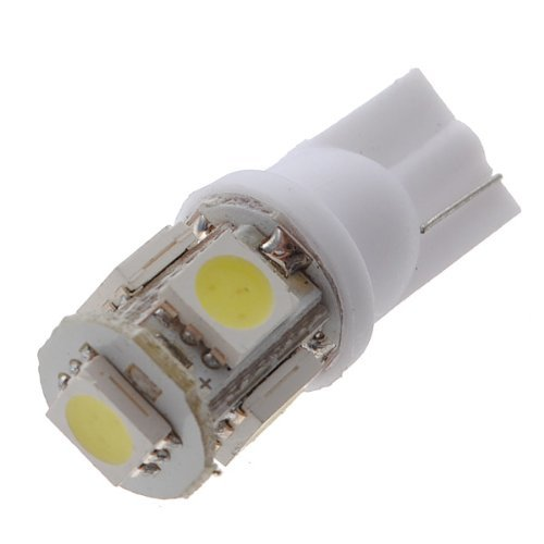 Ketofa 4x new White Car T10 158 194 168 W5W 5050 SMD Car Side Wedge Tail Light Bulb LED Lamp DC 12V Lights Super Bright High Power