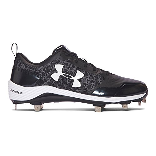Under Armour Men's Yard Low ST, Black (001)/Black, 10.5