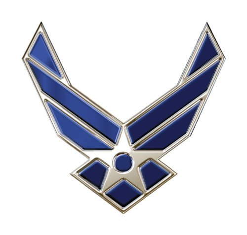 - US Air Force Wings Ball Marker with Magnetic Clip