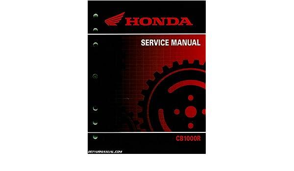 61mfn05 2011 2016 Honda Cb1000r Motorcycle Service Manual