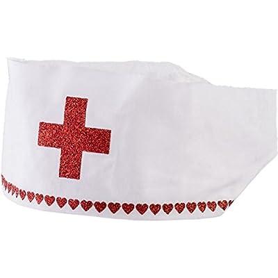 Nurse Hat Costume Accessory: Toys & Games