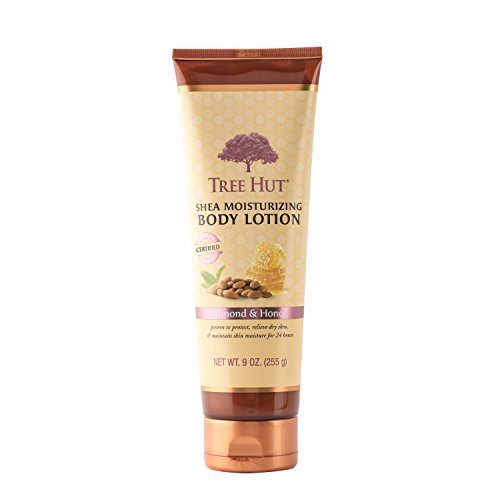 Tree Hut Shea Moisturizing Body Lotion, Almond and Honey, 9