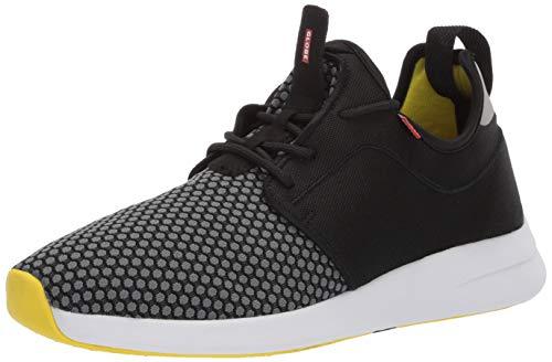 (Globe Men's Dart LYT Skate Shoe Black/Fluro 12 M US)