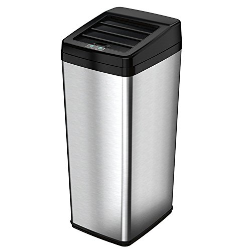 45l stainless steel trash can - 8