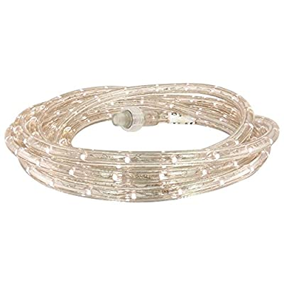 Commercial Electric 27 ft. White LED Rope Light Kit