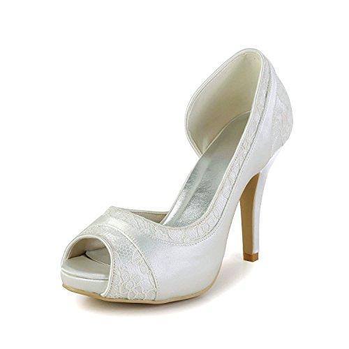 Minitoo , Sandales pour femme - beige - Ivory-10cm Heel,