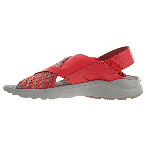 Nike W Luft Huarache Huarache Ultra Mens Fashion-gymnastikskor 885.118 Sol Röd / Havet Korall-vast Grå