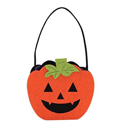 Petalum 4pcs Halloween Kürbis Totenkopf Zombie Handtasche Kinder ...