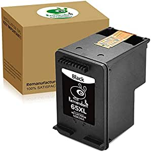 Remandom Compatible Ink Cartridge Replacement for HP 65XL ...