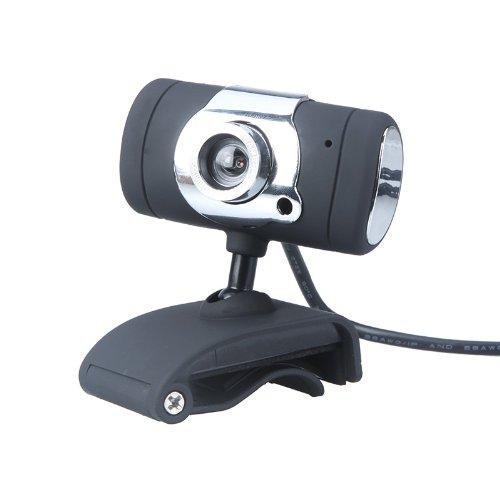 USB 2.0 50.0M PC Camera HD Webcam for Laptop Desktop Black - 2