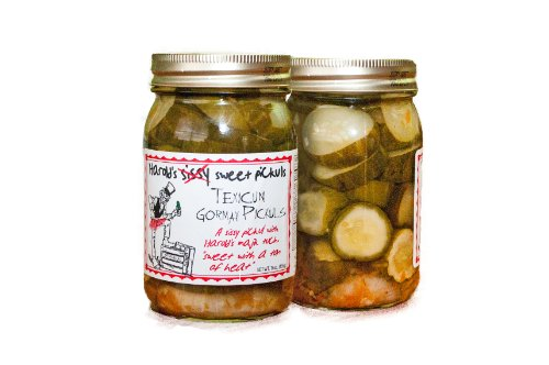 (Harold's Sissy Sweet Hot Pickles 16oz )