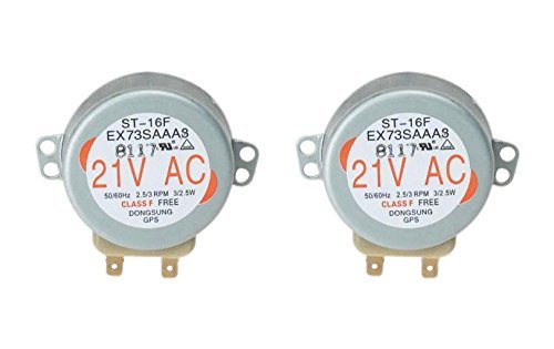2 x GE WB26X10038 Turntable Motor for Microwave Oven