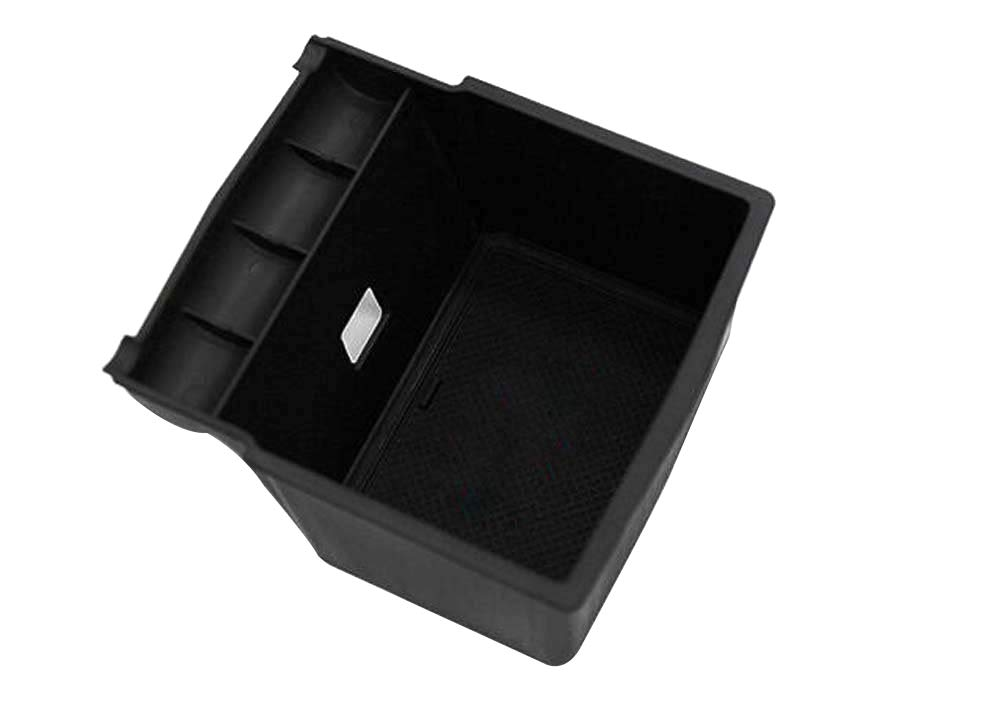 Cosilee Car Center Console Armrest Storage Box Tray for Subaru Forester 2014 2015 2016 2017