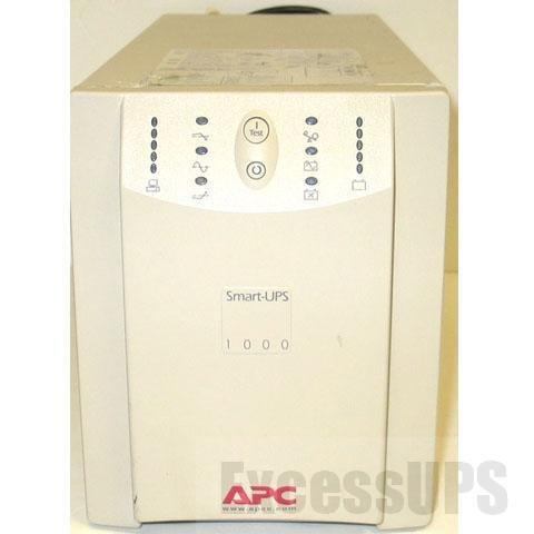 - APC SMART-UPS 1000 SU1000NET 1000VA 670W 120V COMPUTER BATTERY BACK UP UPS