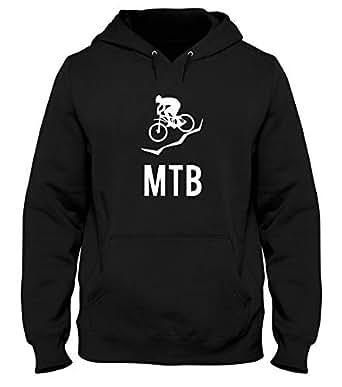 Speed Shirt Sudadera con Capucha Hombre Negro SP0111 MTB Mountain Bike