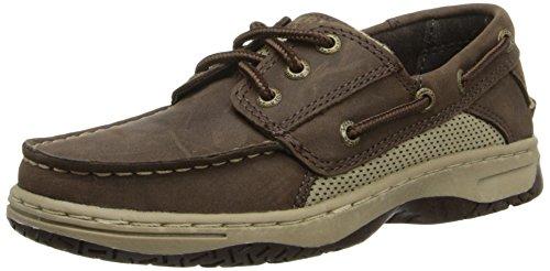 Sperry Billfish Boat Shoe (Little Kid/Big Kid),Chocolate,5.5 M US Big Kid (Shoes For Kids Online)