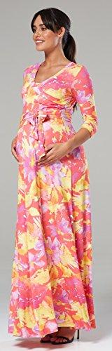 Donna Vestito Maxi MAMA pr HAPPY Hq57H
