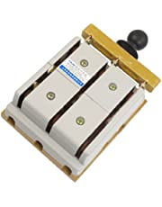 uxcell380V 100A 3 Pole Double Throw Electric Brake Safety Closing Switch