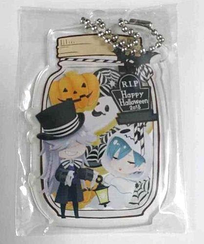 Black Butler Acrylic Keychain Undertaker Ciel Funtom Cafe Halloween Yana Toboso