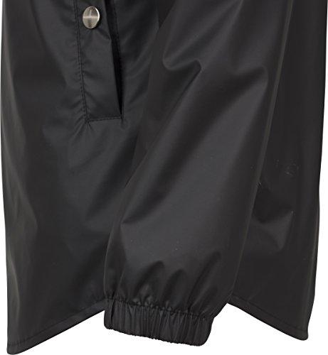 Donna Nero Ladies Classics Over Jacket Neck Urban Pull High Cappotto S84z5qv