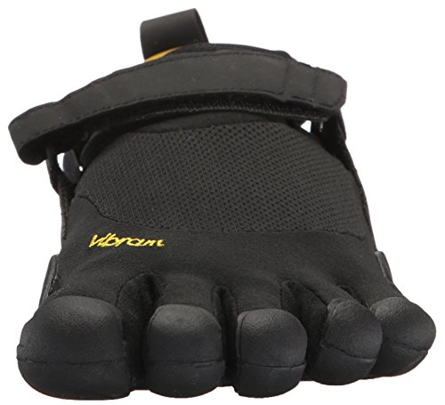 Vibram Men's Five Fingers, KSO EVO Cross Training Shoe Black Black 4.4 M by Vibram (Image #4)
