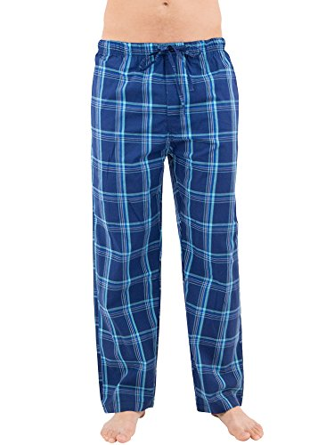 Intimo Men's Woven Pant, Blue, Large