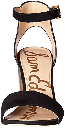 Sam Edelman Womens Synthia Dress Sandal Black Suede