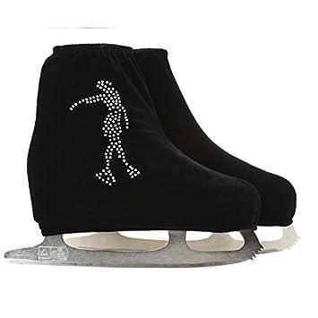 Shoe Cover Roller Skate Child Adult Velvet Ice Skating Figure Fabric Accessories