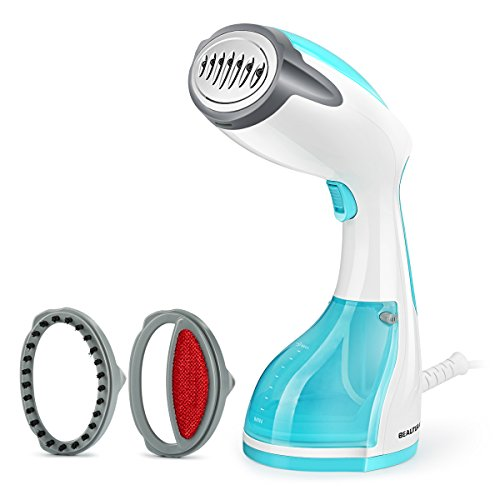 Beautural Steamer for Clothes, 1200-Watt Powerful Handheld Garment Steamers, Wrinkle Remover, Clean...