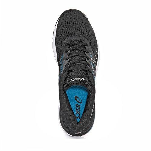 EU 5 Asics Running Homme Flux noir Chaussures Gel noir de E0wg0qar
