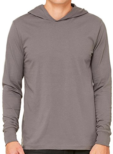 Yoga Clothing For You Mens Lightweight Hoodie Tee Shirt