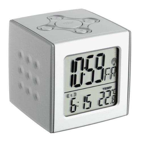 TFA 60.2517 CUBO Funk-Wecker mit Temperatur