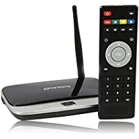 T-R42 Android 4.2.2 Quad Core RK3188 28nm Cortex-A9 1.6GHz 2G/8G BT RJ45 External Wifi Antenna with IR Remote Controller Black
